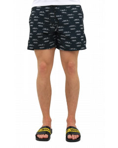 Chain Embroidery Swimshorts