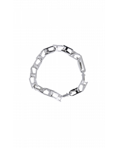 Carabiner Ch Bracelet 2 Silv S
