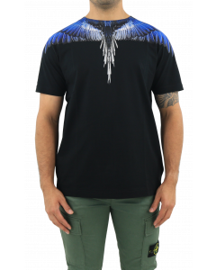 Wings Regular T-Shirt Black Bl